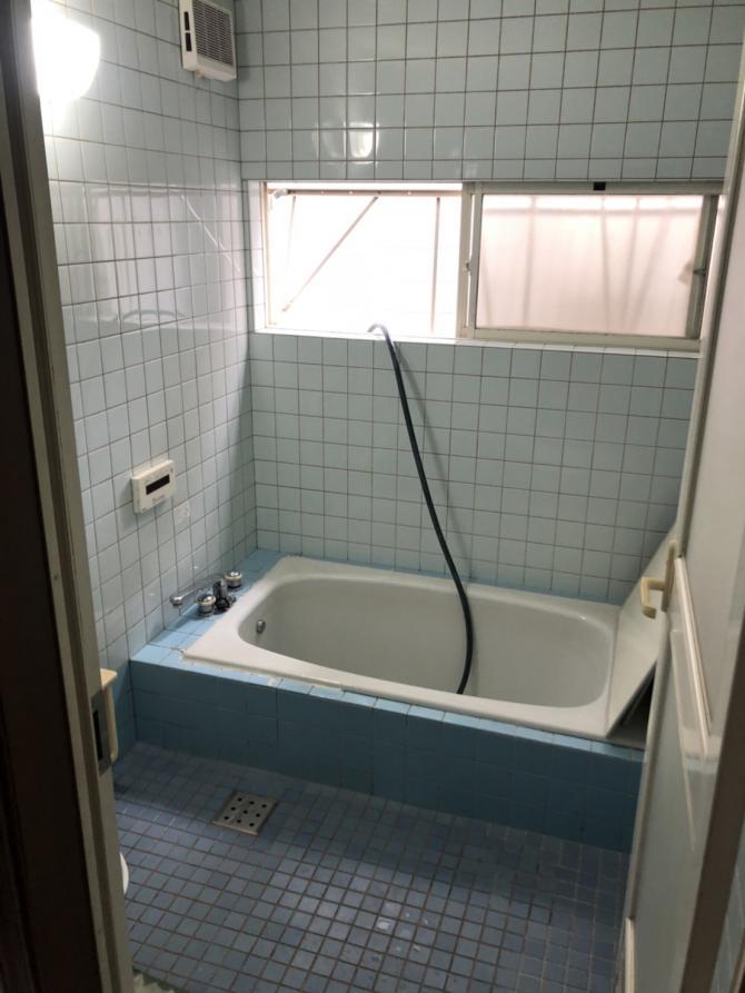 浴室解体ビフォーアフター